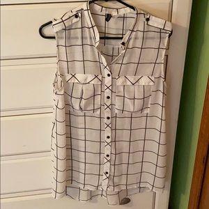 Stripe flow shirt
